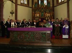Hoorns Bijzantijns koor, op 2-12-2012